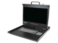 StarTech.com Rackmount LCD Console - 1U - 17in screen - US Keyboard - 1080p - KVM console - Full HD (1080p) - 17""