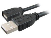 Comprehensive Pro AV/IT USB extension cable - 7.62 m