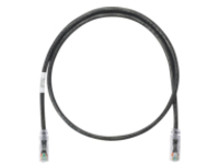 Panduit NetKey patch cable - 7.62 m - black