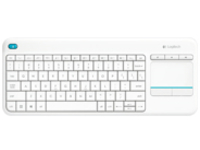Logitech Wireless Touch Keyboard K400 Plus - keyboard - with touchpad - Belgium