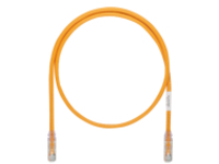 Panduit TX6A-SD 10Gig patch cable - 4.57 m - orange