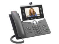 Cisco IP Phone 8845 - IP video phone - with digital camera, Bluetooth interface