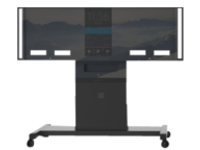 "Microsoft Rolling Stand for 84"" Surface Hub whiteboard stand"