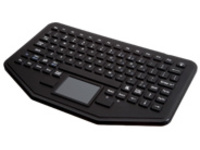 iKey Rugged In-Vehicle PRO-KB-106 - keyboard - with touchpad - black