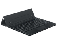 Samsung Book Cover Keyboard EJ-FT810 - keyboard and folio case - with touchpad - black