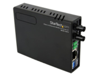 StarTech.com 10/100 Mbps Ethernet to Fiber Optic Media Converter - ST Multimode - 1310nm - 2km - Full/Half Duplex (MCM1…