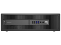 Image of HP EliteDesk 800 G2 - SFF - 1 x Core i5 6500 / 3.2 GHz - RAM 4 GB - HDD 500 GB - DVD SuperMulti - HD Graphics 530...