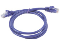 Monoprice FLEXboot Series patch cable - 91 cm - purple