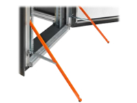 Fujitsu Tilt protection rack anti-tilt leg - 42U
