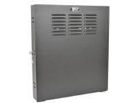 Tripp Lite 2U Wall Mount Low Profile Secure Rack Enclosure Cabinet Vertical rack - 2U