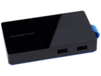 HP Travel Dock - docking station - VGA, HDMI