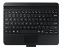 Samsung Keyboard Cover EJ-CT810 - keyboard - with touchpad - black