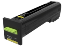 Lexmark - High Yield - yellow - original - toner cartridge - LCCP