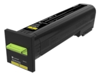 Lexmark - High Yield - yellow - original - toner cartridge - LCCP, LRP