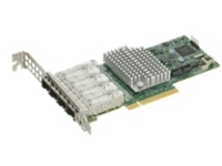 Supermicro Add-on Card AOC-STG-I4S - network adapter - PCIe 3.0 x8 - 10 Gigabit SFP+ x 4