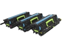 Lexmark - 3-pack - yellow, cyan, magenta - original - toner cartridge - LCCP