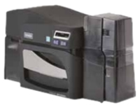 FARGO DTC 4500E Dual-Sided - plastic card printer - color - dye sublimation/thermal resin