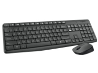 Logitech MK235 - keyboard and mouse set - French