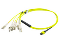 AddOn patch cable - 30 m - yellow
