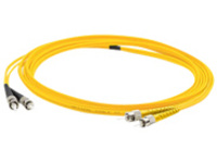 AddOn 1m ST to FC OS1 Yellow Patch Cable - patch cable - 1 m - yellow