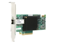 HPE StoreFabric SN1100Q 16Gb Single Port - host bus adapter - PCIe 3.0 - 16Gb Fibre Channel x 1