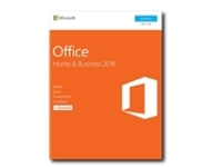 Image of Microsoft Office Home and Business 2016 - Box pack - 1 PC - 32/64-bit, medialess, P2 - Win - English - North America
