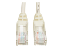 Tripp Lite 7ft Cat5e / Cat5 Snagless Molded Patch Cable RJ45 M/M White 7' - patch cable - 2.13 m - white