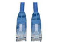 Tripp Lite 3ft Cat6 Gigabit Snagless Molded Patch Cable RJ45 M/M Blue 3' - patch cable - 0.9 m - blue