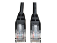 Tripp Lite 14ft Cat5e / Cat5 Snagless Molded Patch Cable RJ45 M/M Black 14' - patch cable - 4.3 m - black
