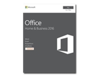 Image of Microsoft Office for Mac Home and Business 2016 - Box pack - 1 Mac - medialess, P2 - Mac - English - North America