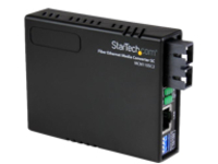 StarTech.com 10/100 Ethernet to Multi Mode Fiber Media Converter SC 2 km - fiber media converter - 10Mb LAN, 100Mb LAN