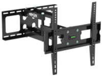 "Tripp Lite Display TV Wall Monitor Mount Arm Swivel/Tilt 26"" to 55"" TVs / EA / Flat-Screens - Wall mount for LCD / plasma panel - steel - black - screen size: 26""-55"""