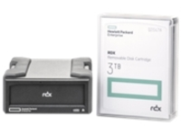 HPE RDX Removable Disk Backup System - RDX drive - SuperSpeed USB 3.0 - external - with 3 TB Cartridge