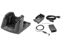 Zebra 1 Slot charging cradle kit - handheld charging stand + power adapter + battery adapter