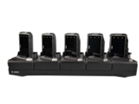 Zebra 5Slot Charge Only Cradle - handheld charging stand