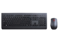 Lenovo Professional Combo - keyboard and mouse set - Danish