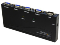 StarTech.com 4-Port VGA Video Splitter - 300 MHz- VGA Splitter - 4 port - 2048x1536 @ 80Hz (ST124PRO) - video splitter …