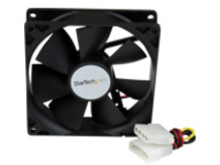 StarTech.com 92x25mm Dual Ball Bearing Computer Case Fan w/ LP4 Connector - 90mm Fan - computer case Fan - pc Fan (FANB…