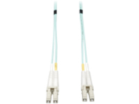 Tripp Lite 15M 10Gb Duplex Multimode 50/125 OM3 LSZH Fiber Patch Cable LC/LC Aqua 15 Meters - patch cable - 15 m - aqua