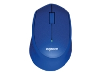 Logitech M330 SILENT PLUS - mouse - 2.4 GHz - blue
