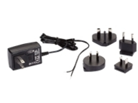 Black Box Wallmount Power Supply with Bare Leads 120-VAC/12-VDC - power adapter - 6 Watt