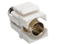 Tripp Lite BNC Keystone Panel Mount Coupler All-in-One Coaxial F/F 75 Ohms - coaxial coupler