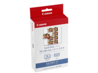 Canon KC-18IL - 1 - yellow, cyan, magenta - 144 pcs. - print cartridge / paper kit