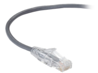 Black Box Slim-Net patch cable - 6.1 m - gray