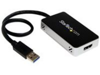 StarTech.com USB 3.0 to HDMI/DVI External Video Card Multi Monitor Adapter - external video adapter - T5-302 - 16 MB - …