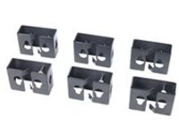 APC Cable Containment Brackets with PDU Mounting PDU mounting brackets