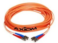 Axiom SC-MTRJ Multimode Duplex OM1 62.5/125 Fiber Optic Cable - 5m - Orange - network cable - 5 m