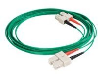 C2G 2m SC-SC 62.5/125 OM1 Duplex Multimode PVC Fiber Optic Cable - Green - patch cable - 2 m - green