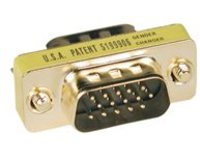 Tripp Lite Compact / Slimline Gold VGA Video Gender Changer Connector M/M - VGA cable