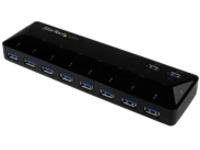 StarTech.com 10 Port USB 3.0 Hub with Charge & Sync Ports - 8 x USB-A, 2 x USB-A Fast Charge Ports - Multi Port Powered…